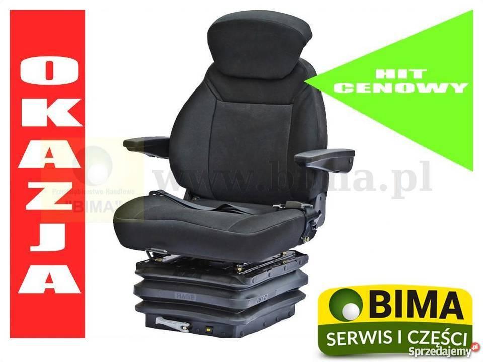 Siedzenie Amortyzowane Mechanicznie Do Ciągnika Same Turobin Sprzedajemy Pl