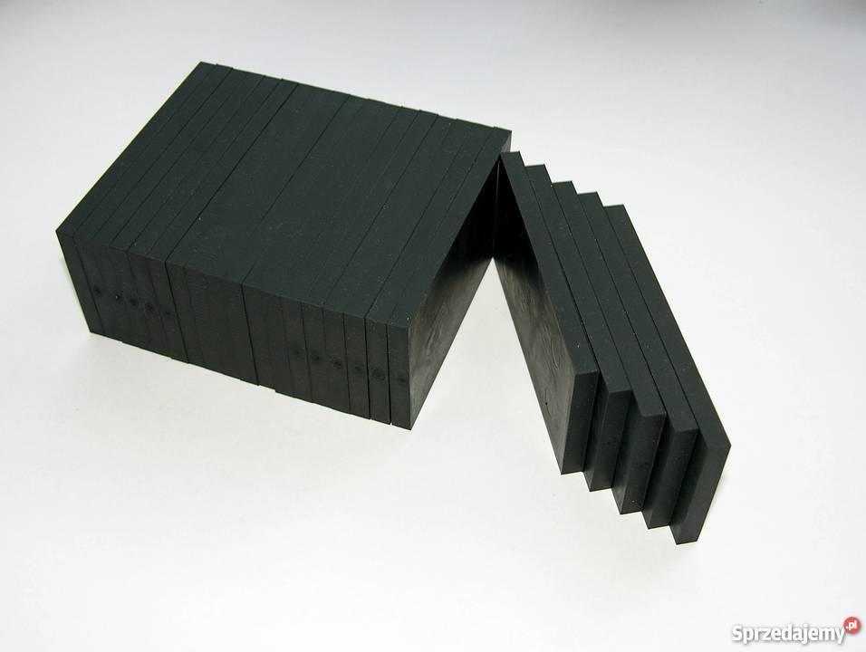 Podkładki Gumowe Pod Legary 80x40x3mm 10 Szt