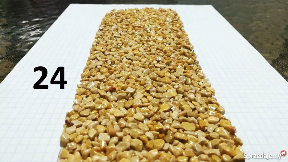 Komplet materiału na 14 m2 kamienny dywan45 m2 Bochnia sprzedam