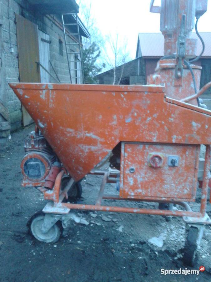 Agregat tynkarski PFT G4 Maszyny budowlane łódzkie Kutno sprzedam