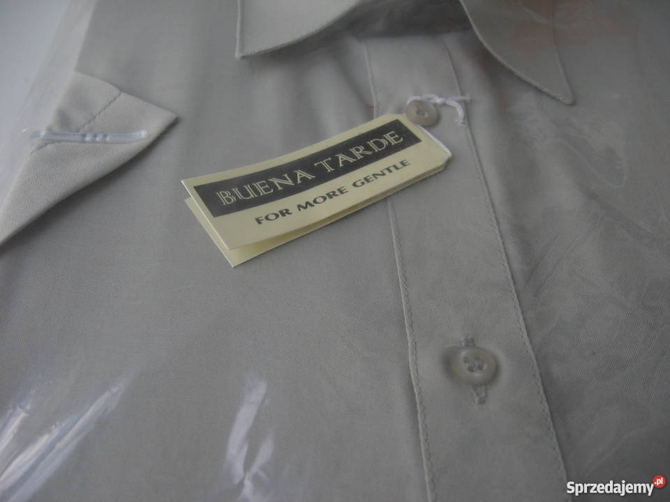 Koszula kr. rękaw BUENA TARDE REBE. 4041, 176 182cm. NOWA