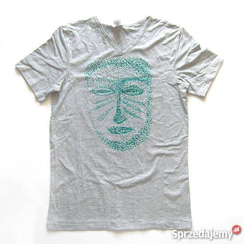 ab9c7f49c etniczna koszulka rozmiar M,popielaty t-shirt rozmiar M, Katowice ...