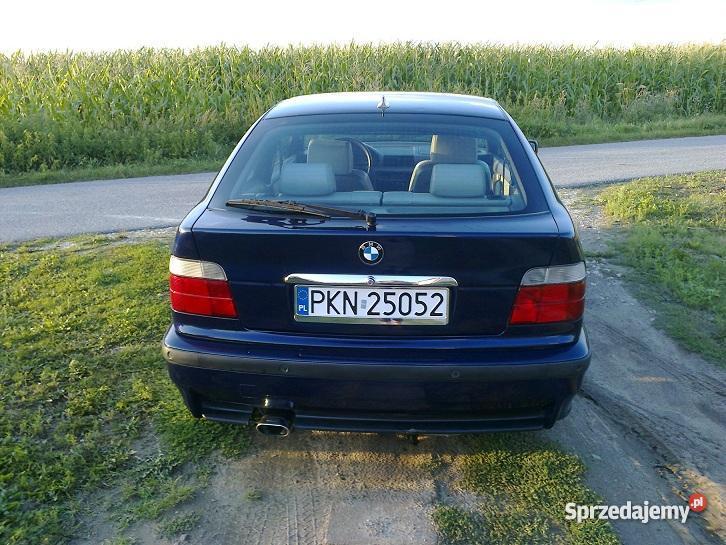 BMW E36 18 IS lakier metallic Wilczyn sprzedam