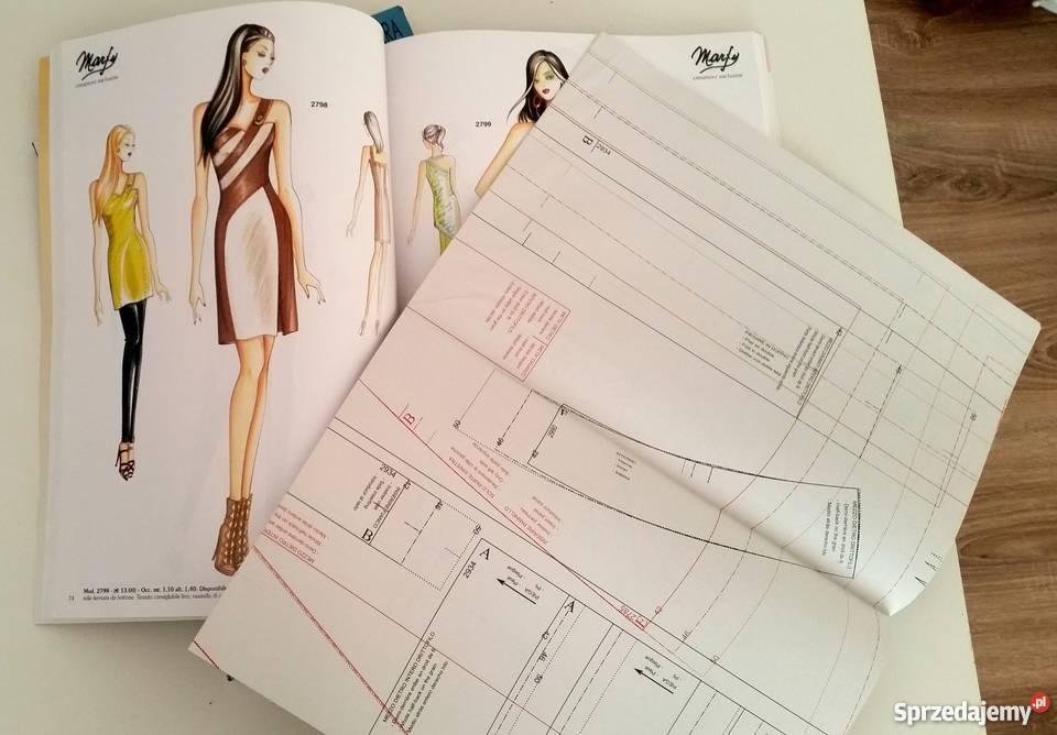 Dwa Wloskie Magazyny Moda Marfy Wykroje Italian Fashion Warszawa Sprzedajemy Pl