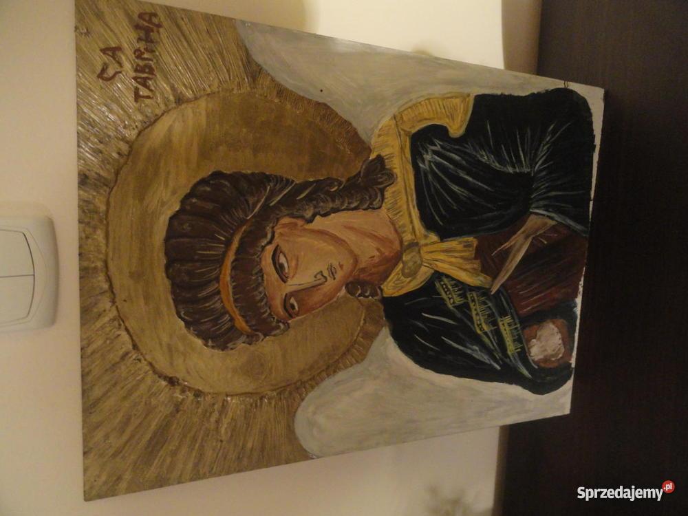 Ikona Obraz Jezus Chrystus Matka Boska Archanioł pomorskie Wejherowo