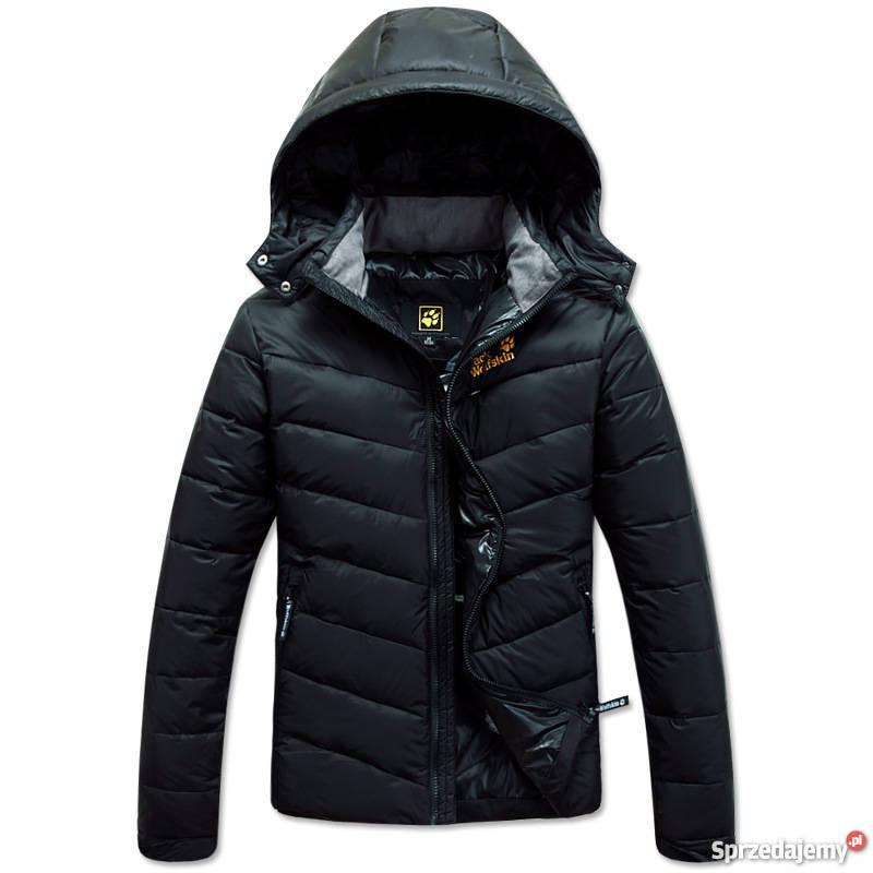 więcej zdjęć najlepsze podejście urzędnik kurtka męska zimowa Jack wolfskin czarna M L XL XXL