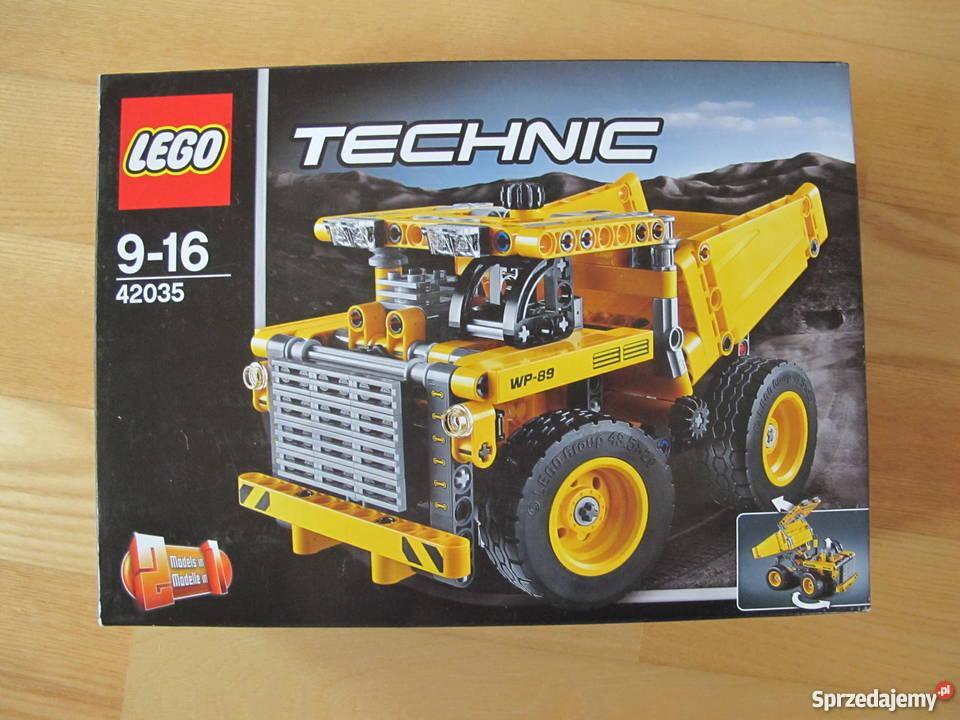 Klocki Lego Technic 2w1 42035 Ciężarówka Górnicza łomża Sprzedajemypl