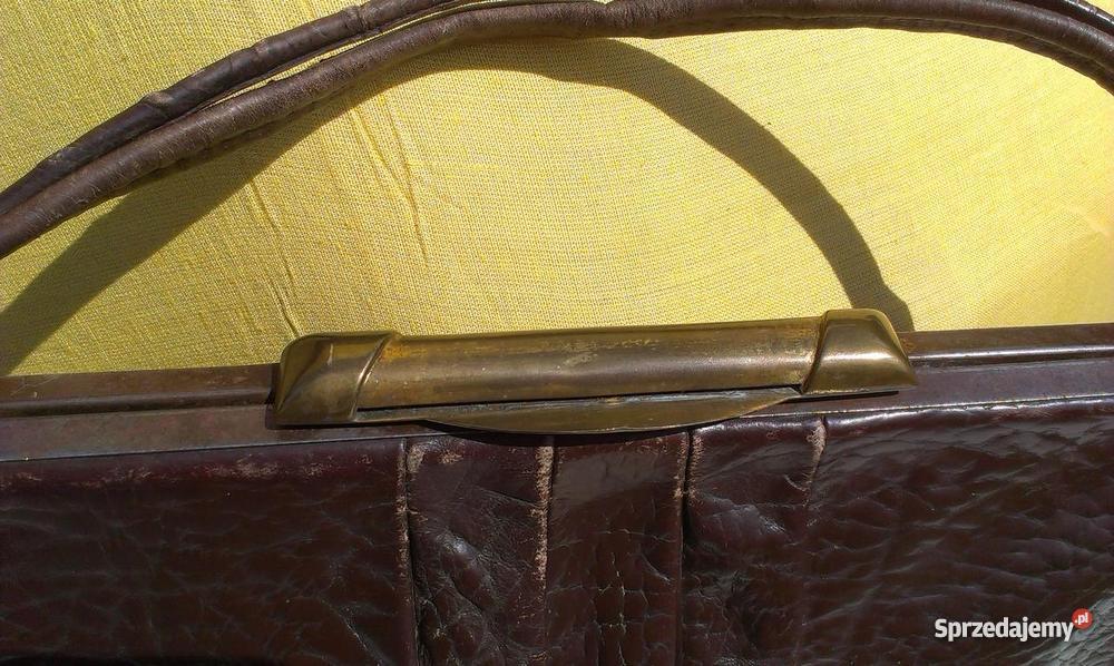 ec090471f1285 Teczka męska i torebki damskie przedwojenne lubelskie Chełm sprzedam