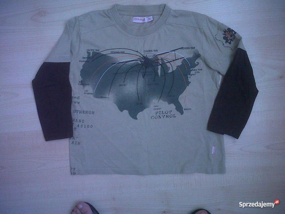 fd049fd88d67db Modna koszulka 128 z bawełnymodna COOL CLUB Bluzki, koszulki i kaftaniki  Kraków