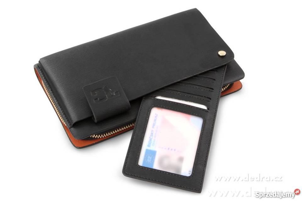 e30eeab129554 2w1 luksusowy męski portfel   etui Elbląg - Sprzedajemy.pl