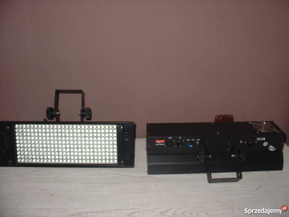 Stroboskop LED DMX światło i efekty pomorskie Kartuzy