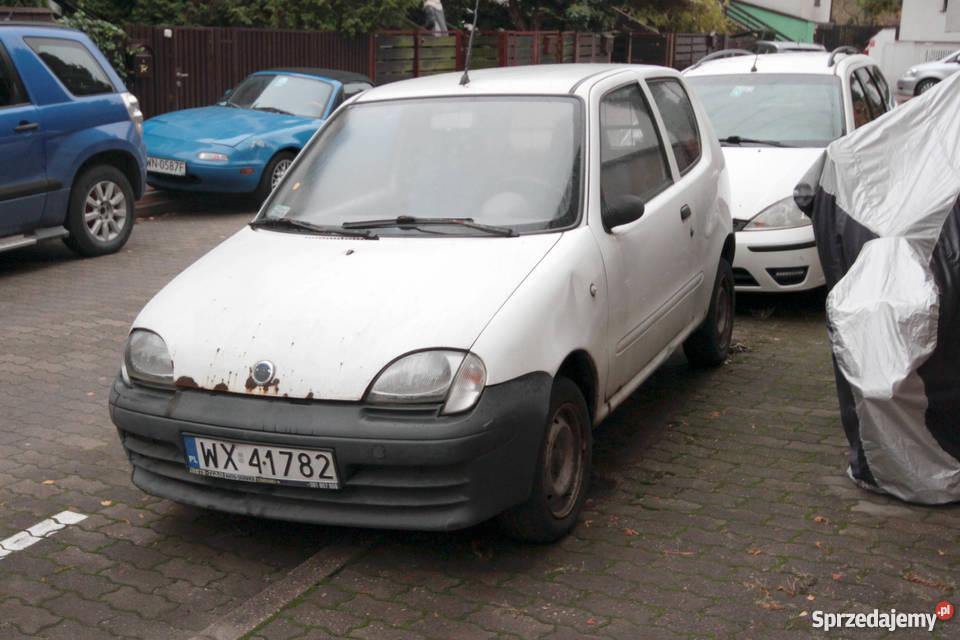Fiat Seicento VAN Fiat Warszawa
