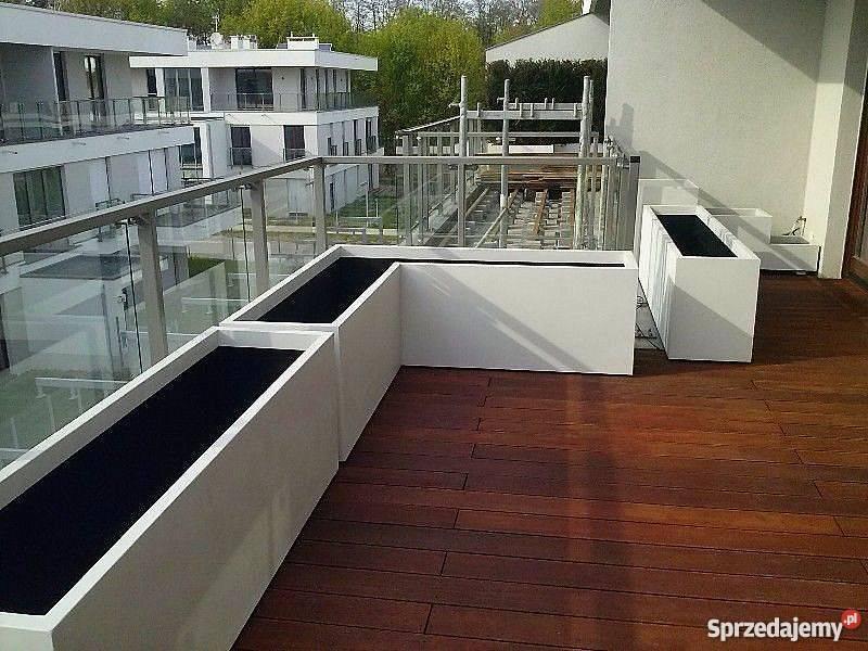 Lekkie donice balkonowe na wymiar łódzkie Łódź
