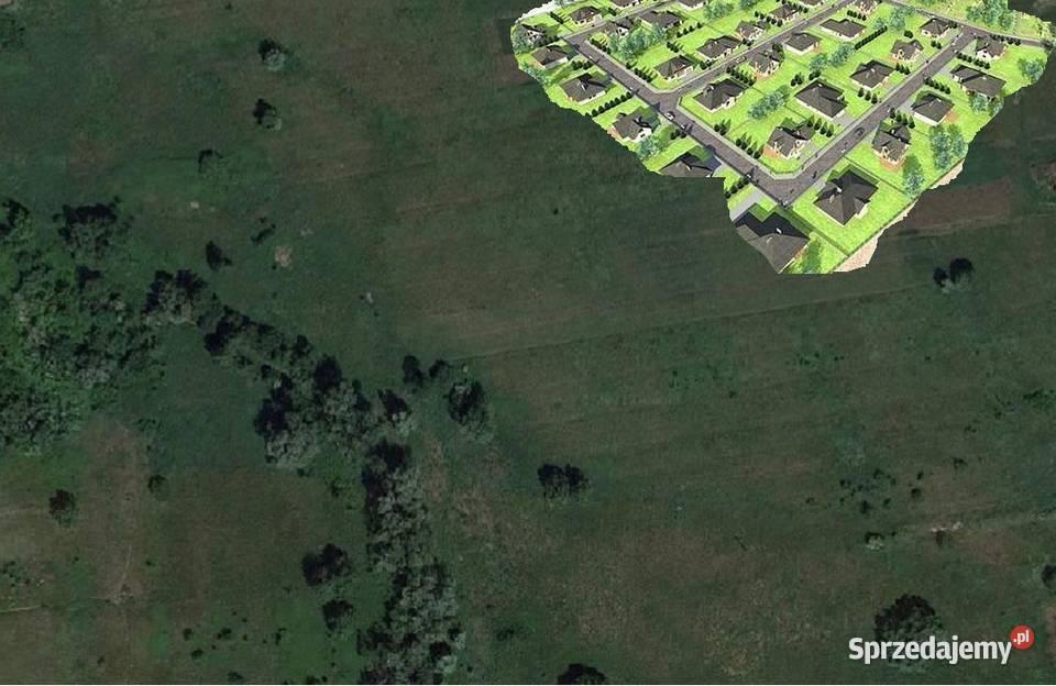 Duży teren pod budownictwo z podziałem na działki