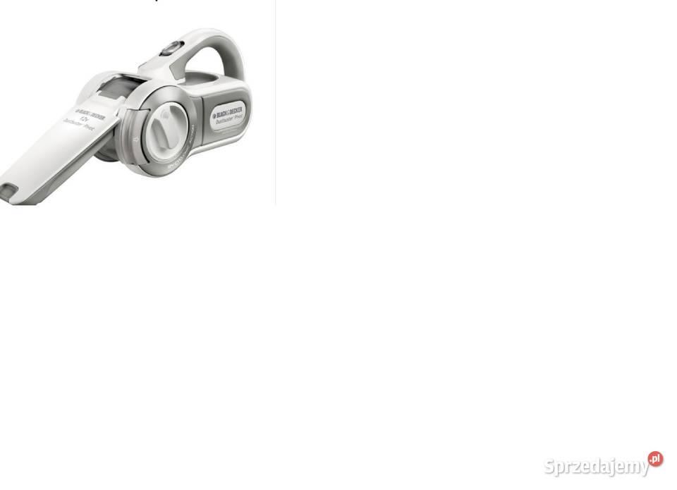 Odkurzacz ręczny akumulatorowy Pivot BlackDecker PV1205WN