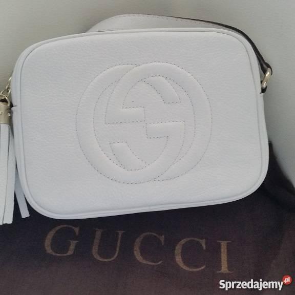 4c8447540b6e7 GUCCI DISCO SOHO torebka biała Myślenice - Sprzedajemy.pl