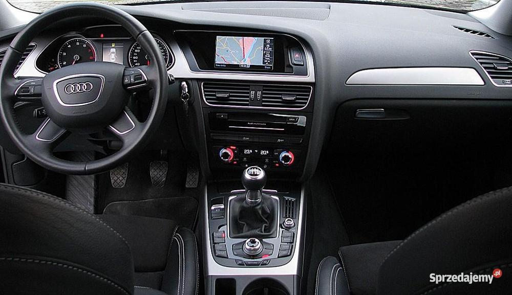 Audi A4 B8 2012 A4 Włocławek