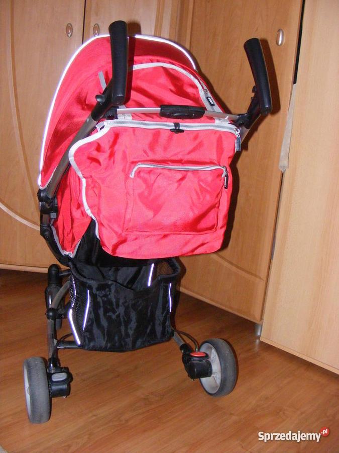 Wózek Spacerowy EuroCart Lira 4 RED śląskie