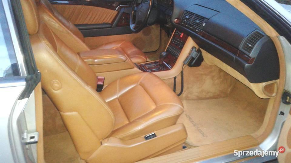 Mercedes 600 sec v12