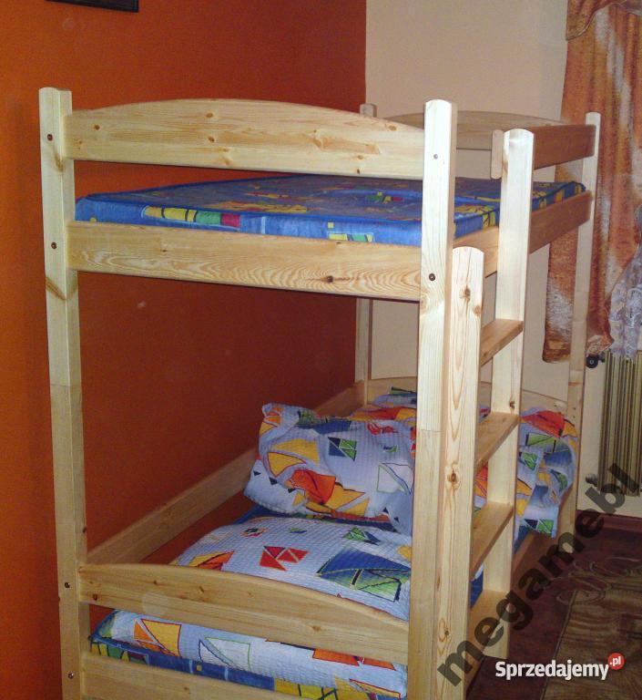 łóżko łóżka Piętrowe Mocne śląsk Małopolska Dowóz