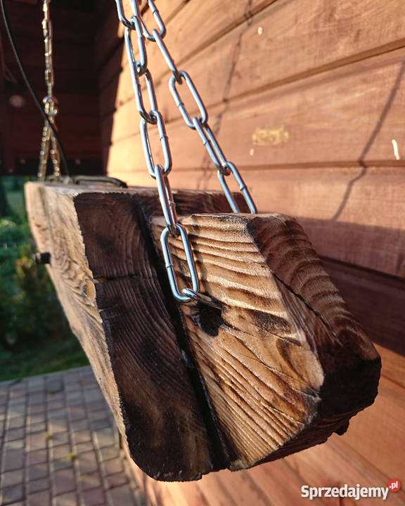 Lampa wisząca Belka drewniana LOFT VINTAGE