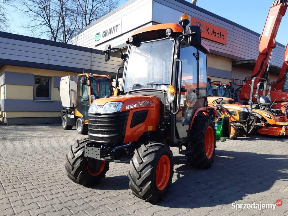 Kubota B1241 Traktorek komunalny, ogrodniczy miniciągnik24KM