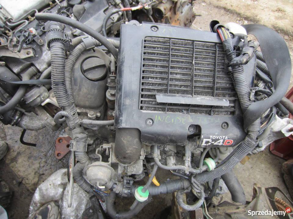 Chłodny Silnik Toyota Yaris 1.4 D4D Bibice - Sprzedajemy.pl UN68