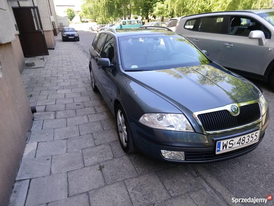 Skoda Octavia II 20 TDI 140 BKD ELEGANCE Škoda Siedlce