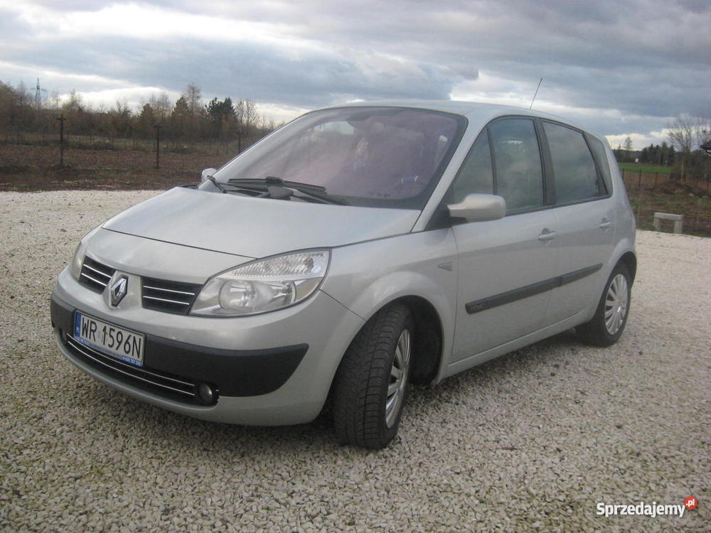 renault megane scenic 2004 rok 1 9 dci 120 km. Black Bedroom Furniture Sets. Home Design Ideas