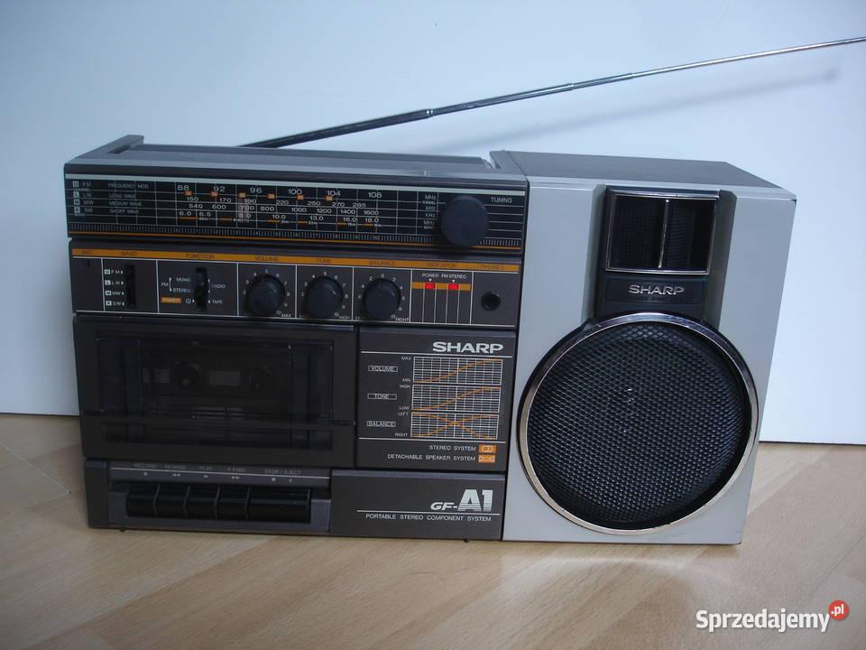 Radiomagnetofon SHARP GF-A1