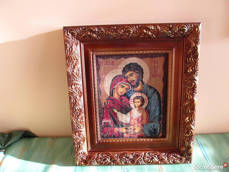 Ikona świętej Rodziny 40 Cm X 35 Cm Wałbrzych Sprzedajemypl