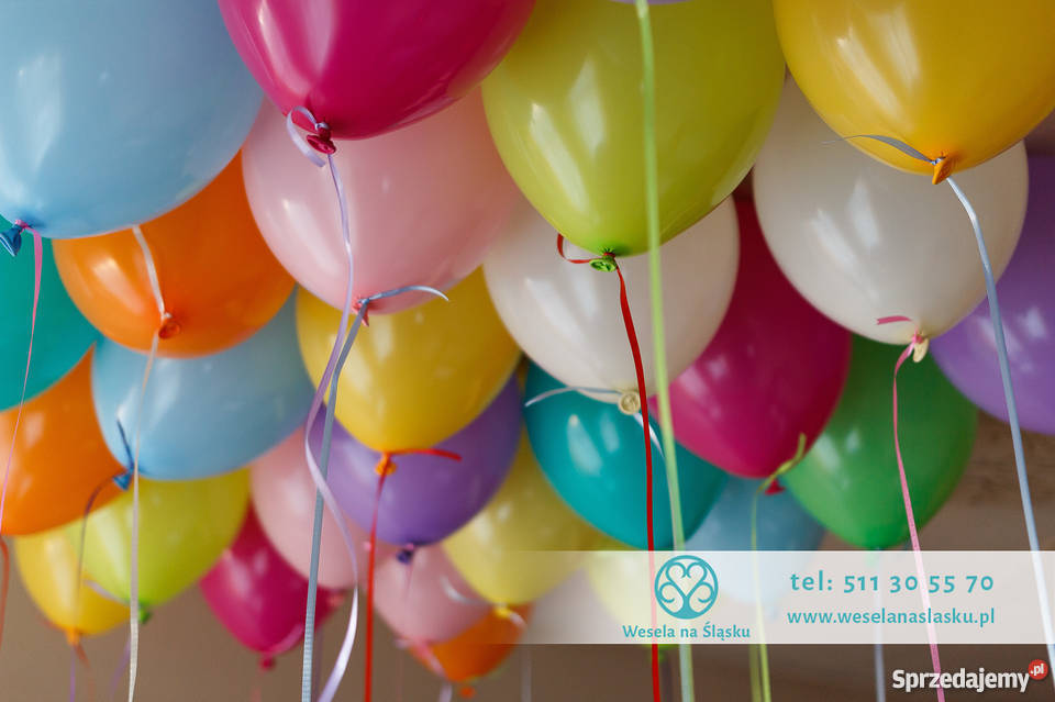 Nowy 2016 Sylwestrowe balony i dekoracje Katowice sprzedam