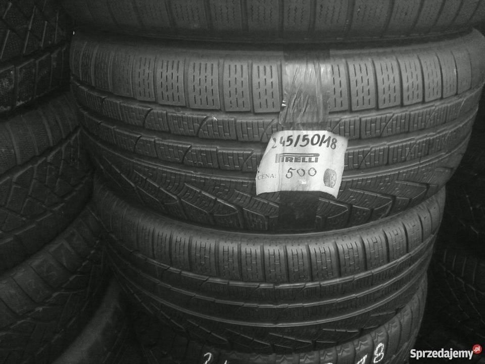 2455018 Pirelli Opony Zimowe Używane Montaż Gratis Warszawa