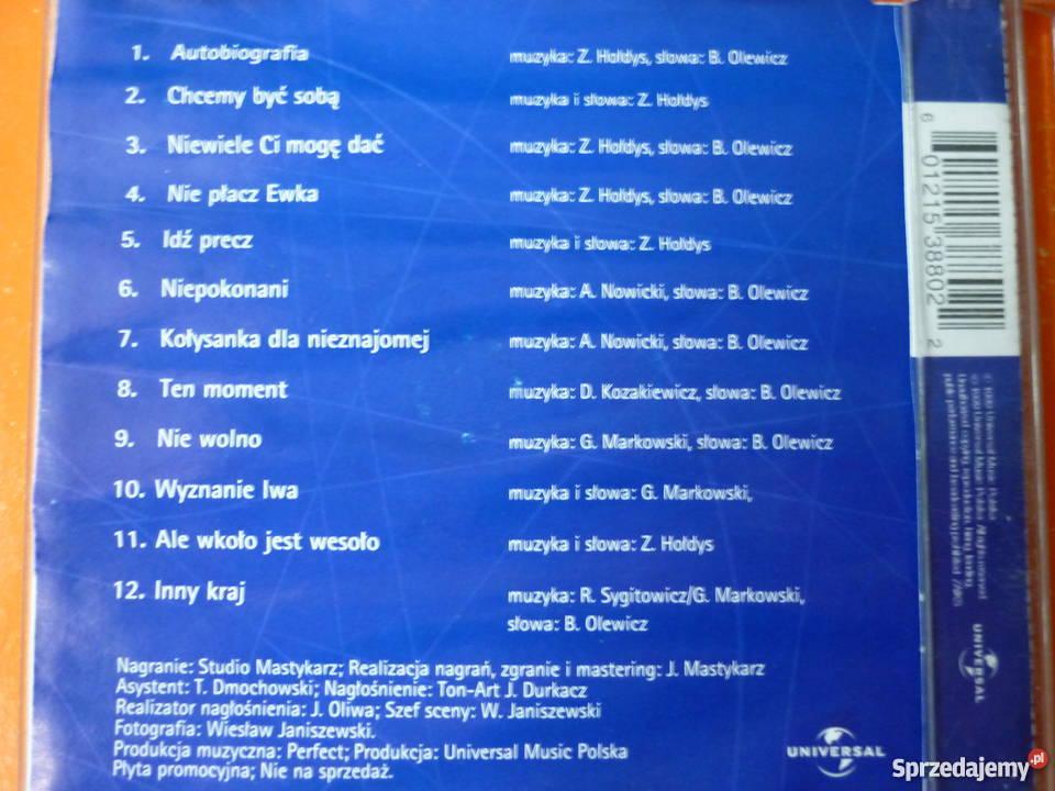 Płyta CD Perfect Twoja era muzyki Grzegorz Warszawa