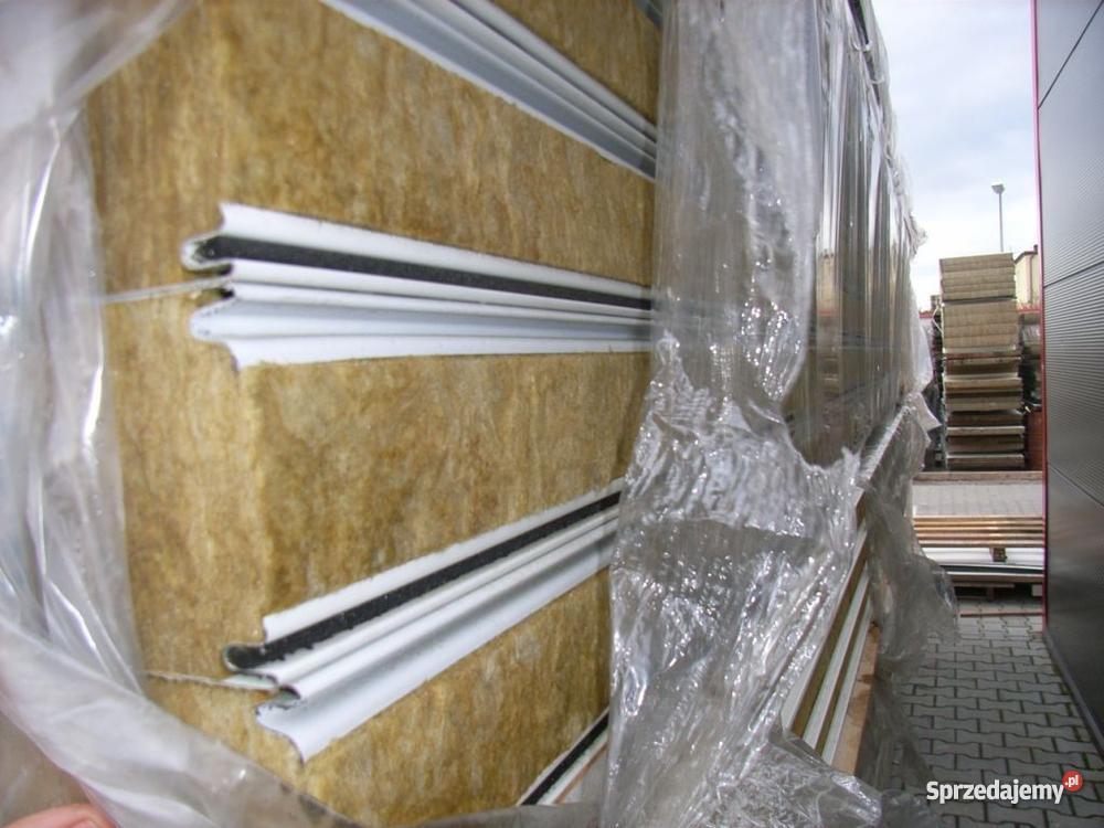 Płyta warstwowa wełna mineralna dach i ściana Maszyny budowlane Sadki