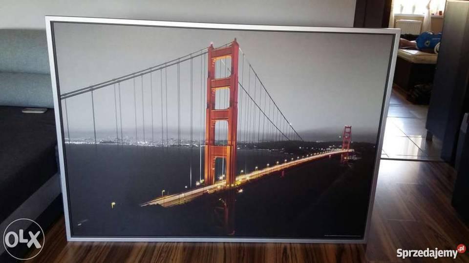 Obraz Ikea Most Golden Gate San Francisco 100x140 łódź Sprzedajemypl