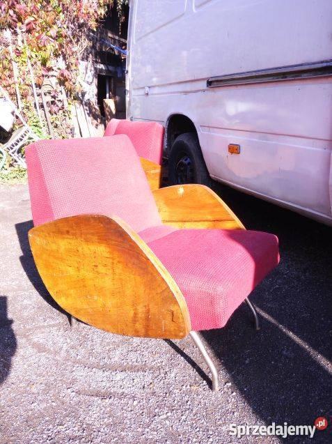 Fotele 360 Jróżański 4 Sztunikat Lata 60