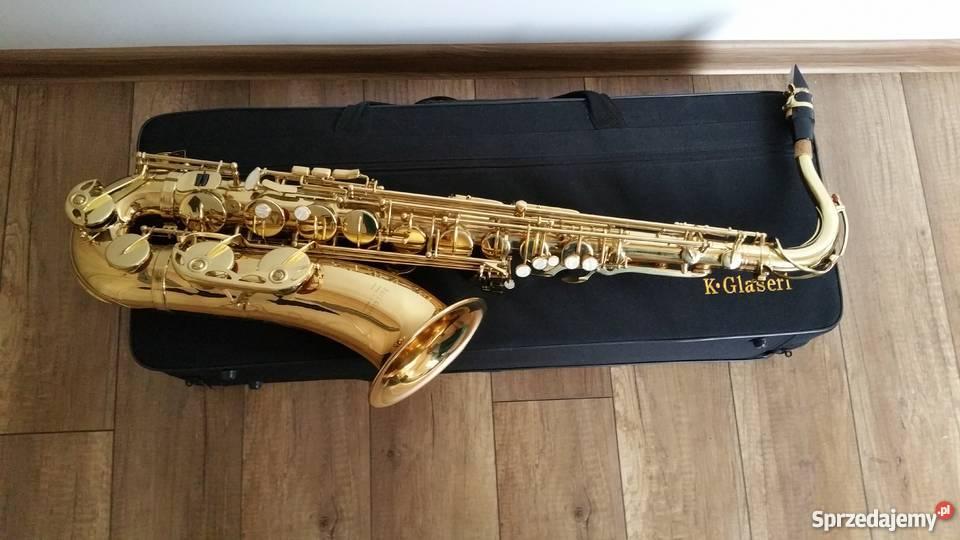 Saksofon Tenorowy blaszane Muzyka Dzięgielów