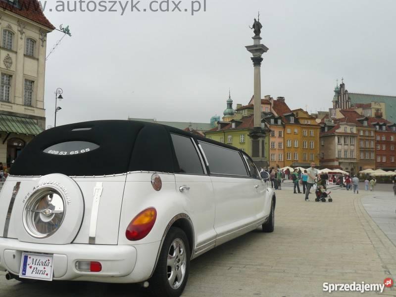 Auta ślubne limuzyny lincoln excaliburchrysler Obsługa imprez mazowieckie Warszawa