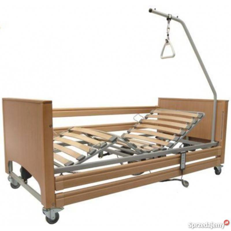 łóżko Rehabilitacyjne 3 Funkcyjne Z Pilotem Transport I Mont