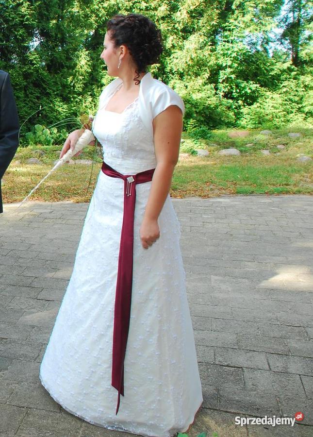 Suknia ślubna Koronkowa Ecrui 3840 Sprzedajemypl