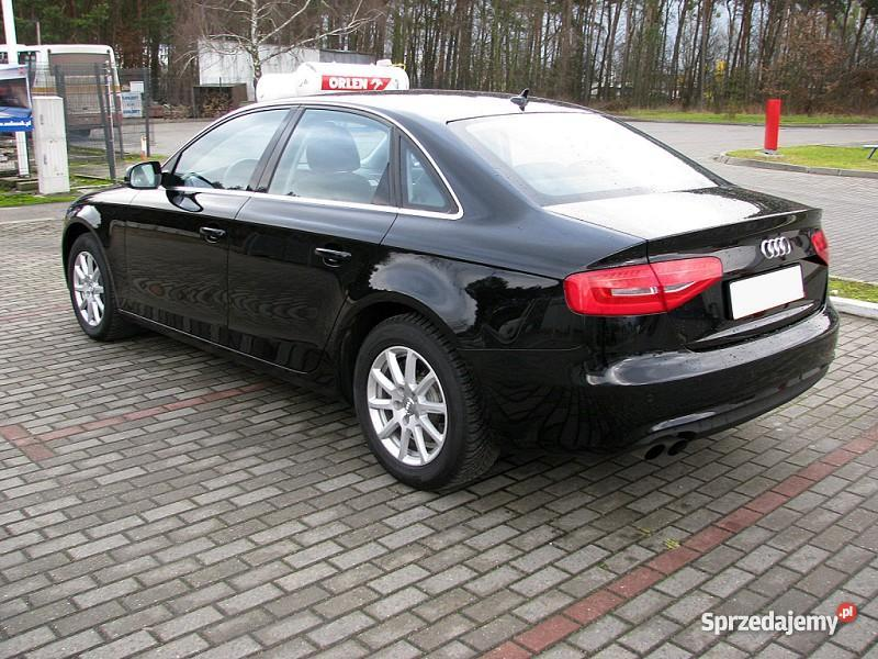 Audi A4 B8 2012 czarny Włocławek