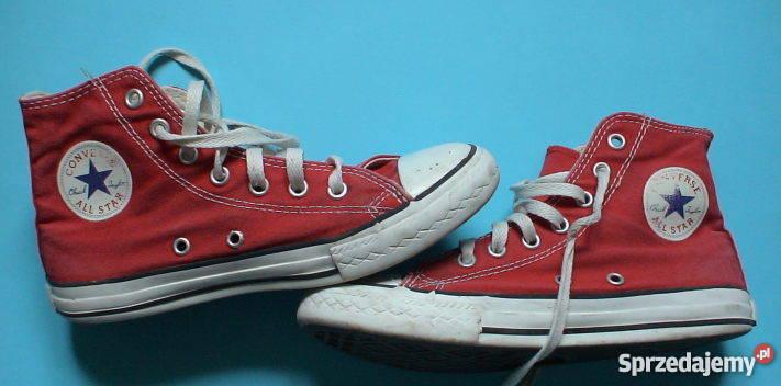 Converse all star czerwone roz. 34