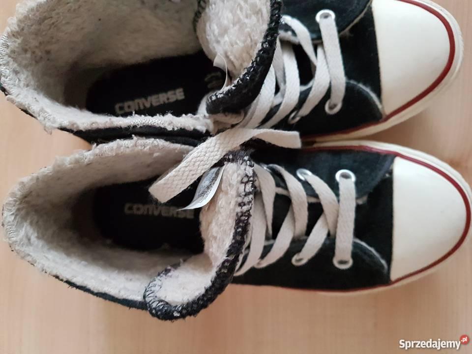 Trampki Converse Nowe Rozmiar 32 Długość wkładki 19,5cm