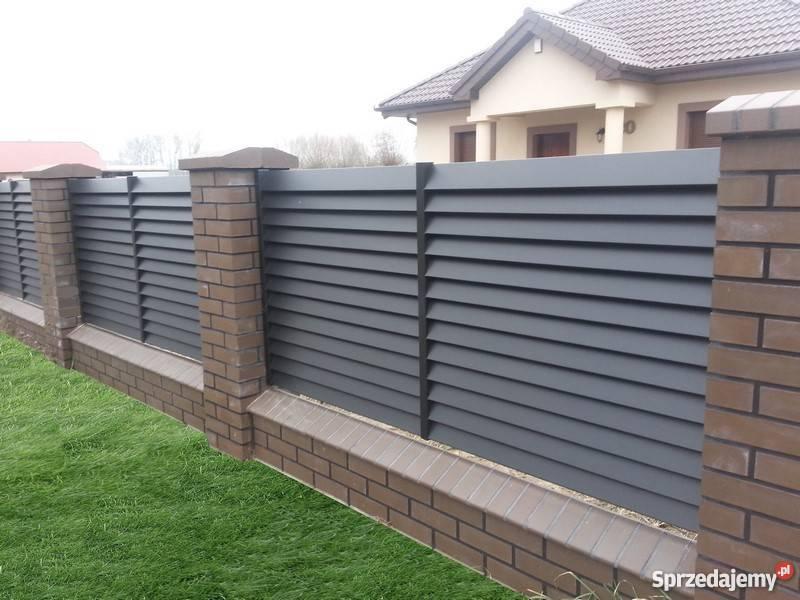 Modish Tarczyńscy ogrodzenia metalowe nowoczesne palisadowe Golina RP01