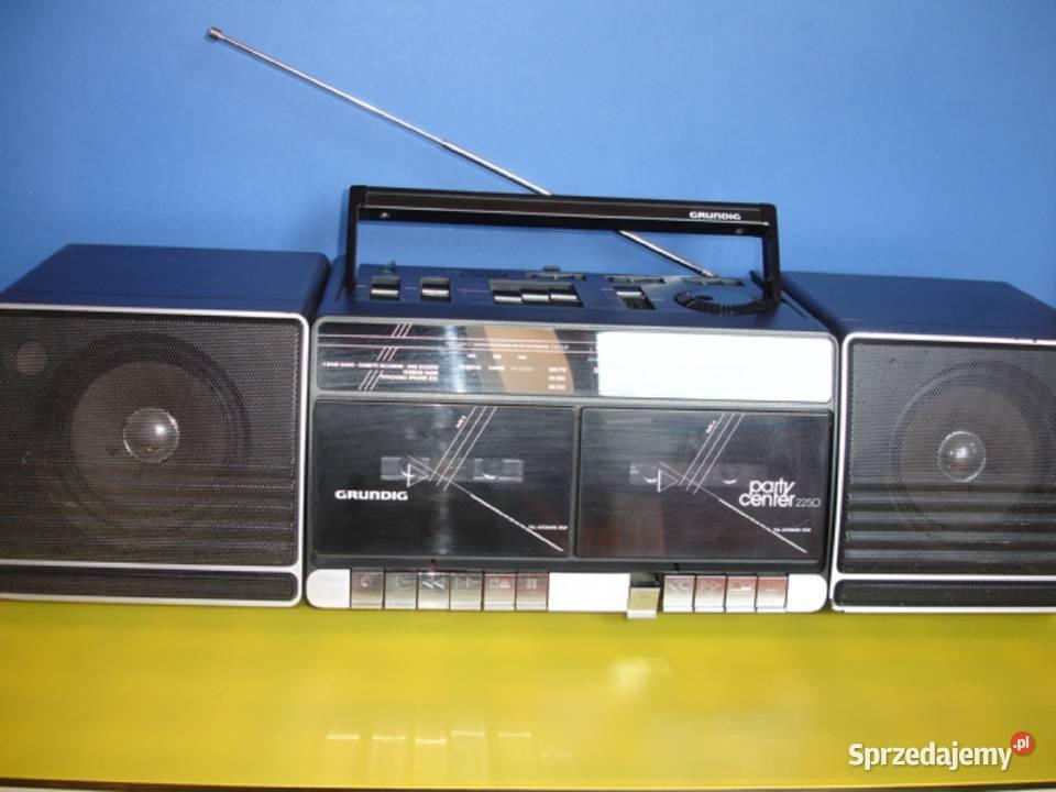 Radiomagnetofon GRUNDIG PARTY CENTER 2250