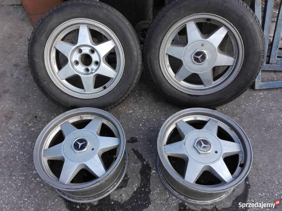 Mercedes W124 190 W201 W202 Felgi Aluminiowe Mim Koła Opony
