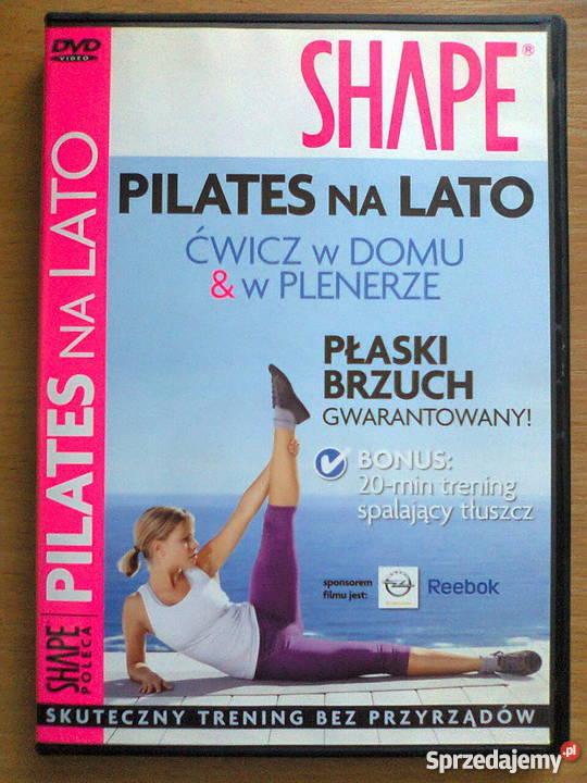 Ćwiczenia odchudzające DVD SHAPE Pilates na lato ćwicz w dom