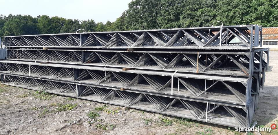 Bardzo dobra Kratownica dachowa konstrukcja stalowa hali wiązar wiaty Malechowo OH59