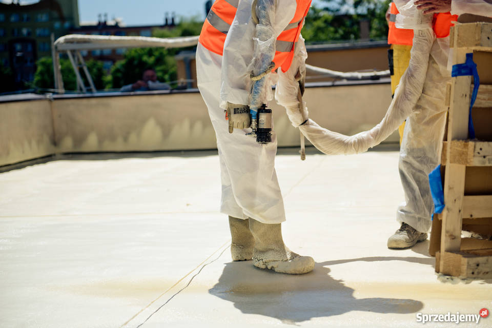 Ocieplenie dachu płaskiego Smart Budownictwo